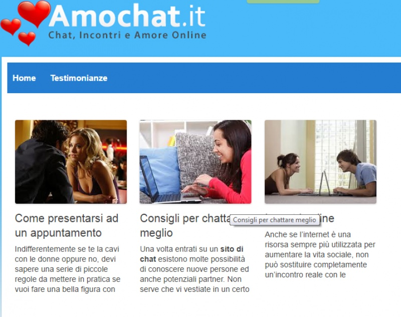 amochat commenti