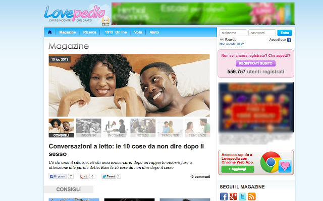 lovepedia opinioni