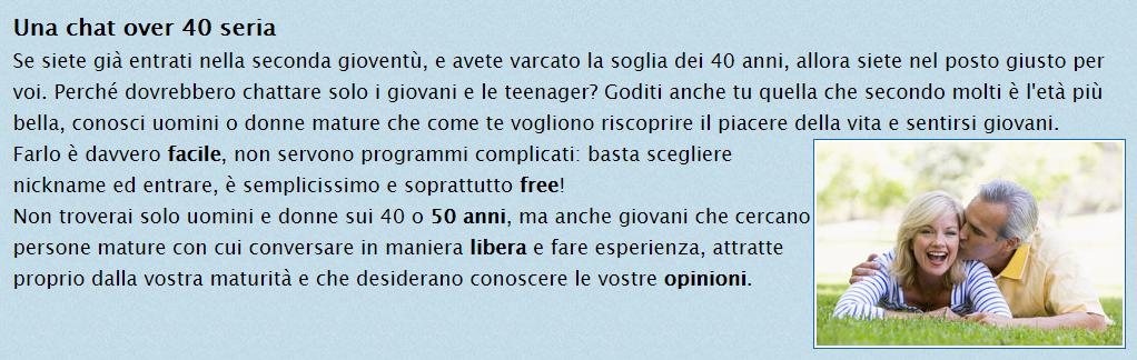 chat gratis senza iscrizione porno gratis tutto italiano