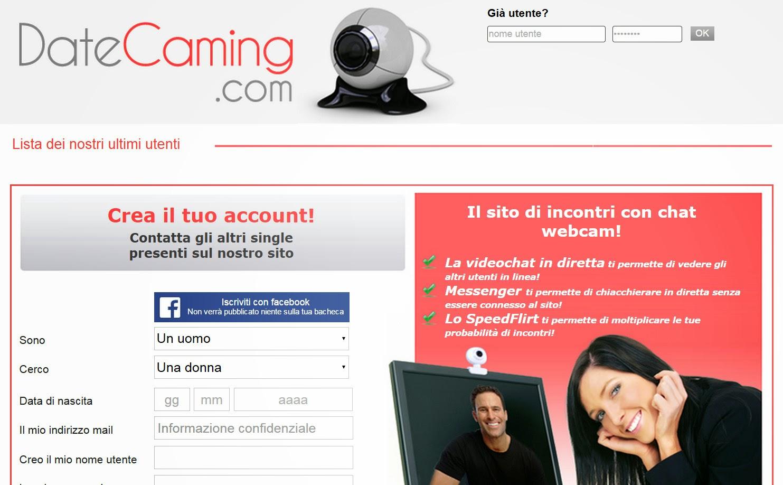 DateCaming commenti