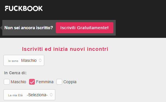Fuckbook gratis