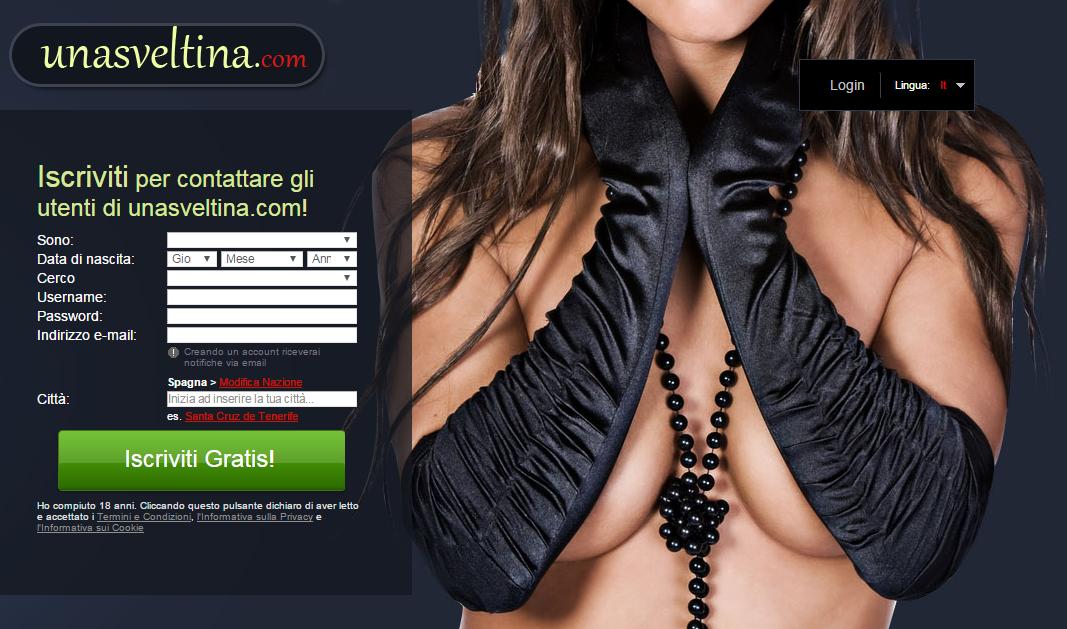 erotici chat incontri senza abbonamento