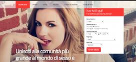 Siti di incontri sexy online in Italia a Roma e Milano gratis