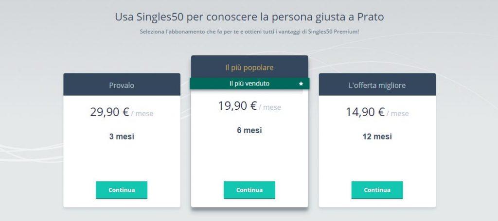 singles50 costi