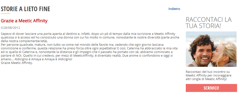 meetic affinity opinioni
